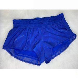 Lululemon City Sky Run by Short Lace Shorts Sz 6